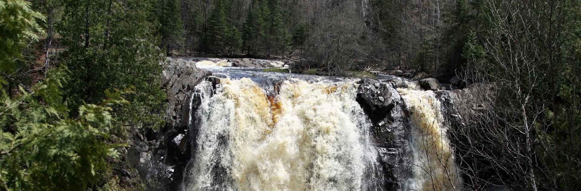 Little Manitou Falls in Douglas County.