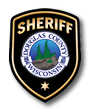 Image of the badge of Douglas County Sheriffs office.